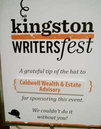 Kingston WritersFest sponsor
